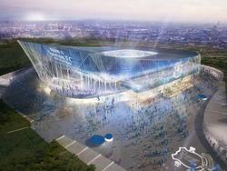 So soll das neue Stadion des FC Everton aussehen (Quelle: twitter)