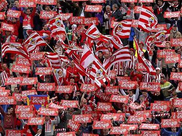 Imagen de archivo de la afición del Girona en Montilivi. (Foto: Imago)