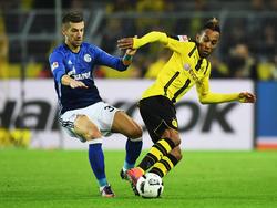 Schalkes Matija Nastasić (l.) soll auf dem Zettel von der AS Roma stehen