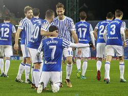 Wie wird Real Sociedad gegen Salzburg auflaufen? © imago/Alterphotos