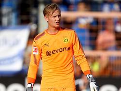 Dominik Reimann schaffte es in den Profikader des BVB