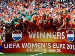 Besondere Ehre für die Oranje-Europameisterinnen