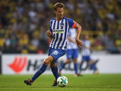 Sebastian Langkamp konnte nach Hüftproblemen wieder mit der Mannschaft trainieren