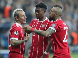 Das Viertelfinale der Champions League soll für den FCB nur eine Durchgangsstation sein