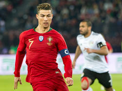 Portugals Torgarant Cristiano Ronaldo sorgte mit seinen zwei Toren für den 2:1-Sieg gegen Ägypten