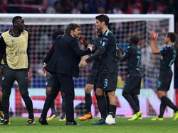 Álvaro Morata (M.) wechselte im Sommer von Real zu Chelsea