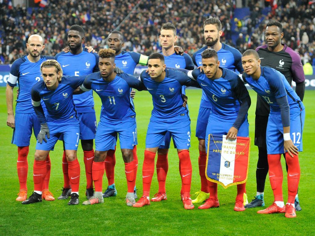 Frankreich trifft am Dienstag in Köln auf Deutschland