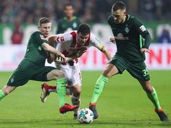 Werder gewinnt gegen Köln