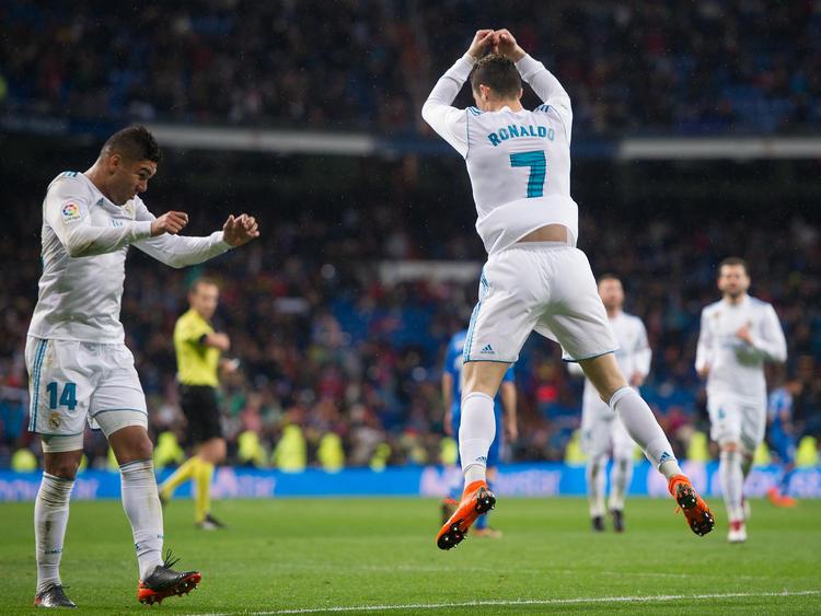 Cristiano Ronaldo war einmal mehr der Mann des Tages