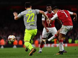 Alexis Sánchez war für Arsenal erfolgreich