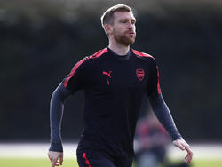 Per Mertesacker spielt noch bis zum Sommer beim FC Arsenal