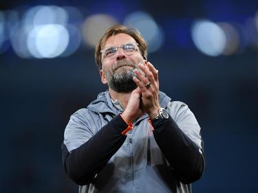 Jürgen Klopp glaubt an die Chance seines FC Liverpool