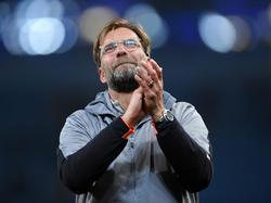 Jürgen Klopp steht mit dem FC Liverpool vor dem Einzug ins Champions-League-Finale