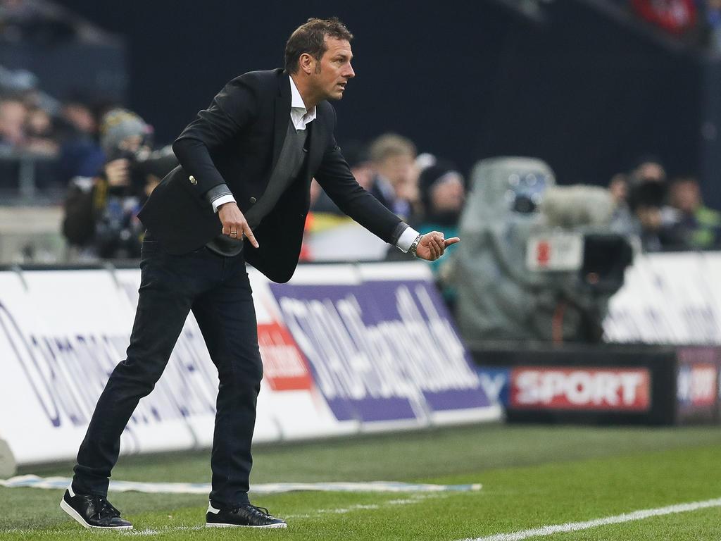 Markus Weinzierl und der FC Schalke sind im Pokal gegen Sandhausen gefordert