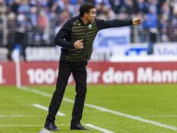 Wolfsburgs Trainer Valérien Ismaël forderte eine Siegesserie von seinemTeam