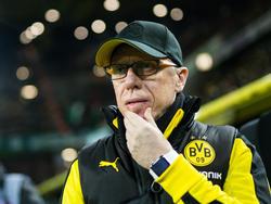 Dortmunds Trainer Peter Stöger sieht kein Mentalitätsproblem in seiner Mannschaft