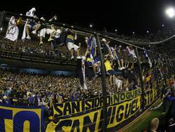 Beim Spiel gegen River Plate blieb es nicht bei friedlicher Unterstützung der Boca-Fans