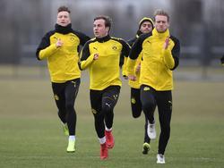 Das Trio Reus, Götze, Schürrle hofft weiterhin auf eine WM-Teilnahme