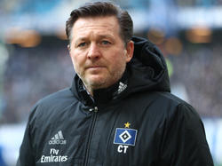 Will mit dem HSV das Wunder Klassenerhalt doch noch schaffen: Trainer Christian Titz