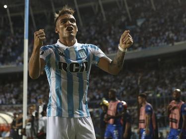 Lautaro Martínez dürfte ab kommenden Sommer für Inter Mailand stürmen. © imago/Agencia EFE