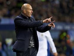 Zinédine Zidane trifft im Halbfinale der Champions League auf den FC Bayern München