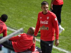 Paolo Guerrero schaffte im letzten Moment den Sprung zur WM