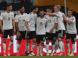 Die DFB-Elf fährt einen standesgemäßen Kantersieg ein