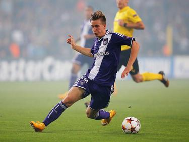 Dennis Praet, trequartista dell'Anderlecht