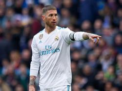 Kapitän Sergio Ramos ist für Real Madrid im Halbfinale spielberechtigt