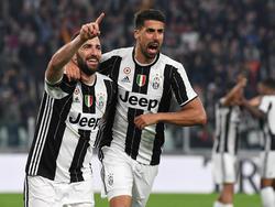 Sami Khedira (r.) will mit Juventus Turin die Champions League gewinnen