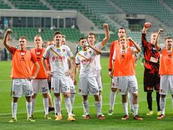 Die Spieler von Jagiellonia Białystok sind in der Form ihres Lebens