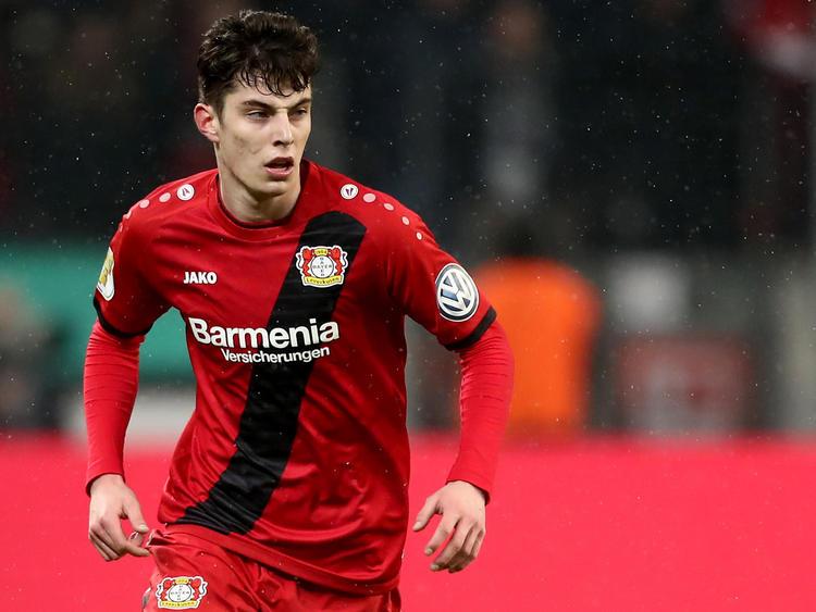 Kai Havertz ist bei Leverkusen zum Stammspieler gereift