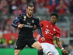 David Alaba und Real Madrids Gareth Bale kennen sich aus der Champions League