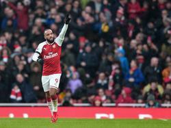 El Arsenal no podrá contar con su delantero en los próximos compromisos. (Foto: Imago)
