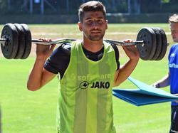 Mit starkem Einsatz im Training überzeugte Antonio Čolak die Verantwortlichen in Darmstadt
