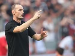 Heiko Herrlich fordert von seiner Defensive mehr Konzentration