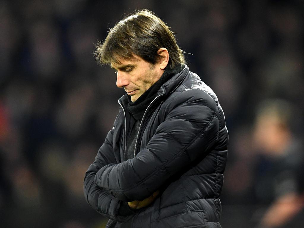 Die Sorgenfalten sind Chelseas Coach Conte nach dem 1:4 gegen Watford anzusehen