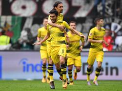 Liefen jahrelang gemeinsam für den BVB auf: Nuri Sahin (vorne) und Neven Subotic