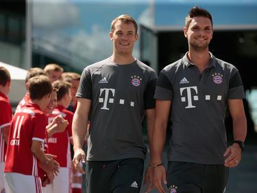 Könnte Neuer auch bei der WM vertreten: Sven Ulreich (r.)