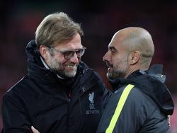 Für Jürgen Klopp und Pep Guardiola ist die Begegnung richtungsweisend