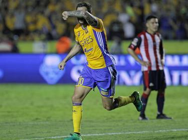 Gignac volvió a las andadas en su idilio con el gol. (Foto: Imago)