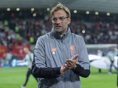 Jürgen Klopp freute sich über die starke Leistung seines Teams