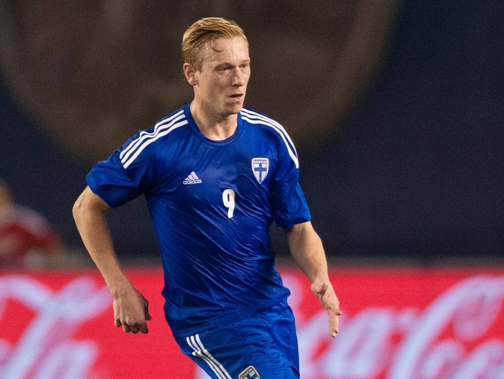 HJK Helsinki kann sich auf Tore von Ex-England-Legionär Mikael Forssell (hier im finnischen Teamdress) verlassen