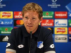 Trainer Julian Nagelsmann kassierte mit Hoffenheim eine lehrreiche Niederlage