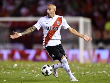 Der Ex-Nürnberger Javier Pinola dümpelt mit River Plate im Mittelmaß