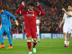 Mohamed Salah trifft derzeit nach Belieben
