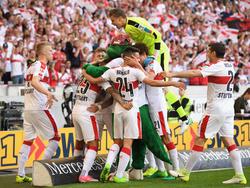 Der VfB Stuttgart ist zurück in Liga eins