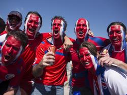 Die Fans von Costa Rica haben dieser Tage reichlich Grund zu feiern