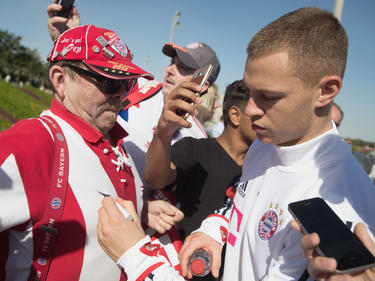 Verlängert Joshua Kimmich bald beim FC Bayern München?
