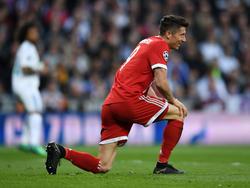 Robert Lewandowski beim FC Bayern weiter in der Kritik